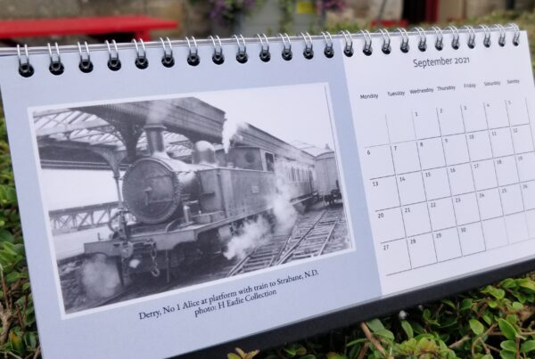 Donegal Railway Desktop Calendar, 2021