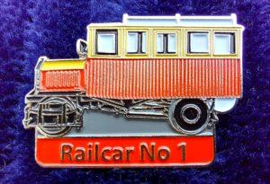 Donegal Railway Railcar No. 1 Badge