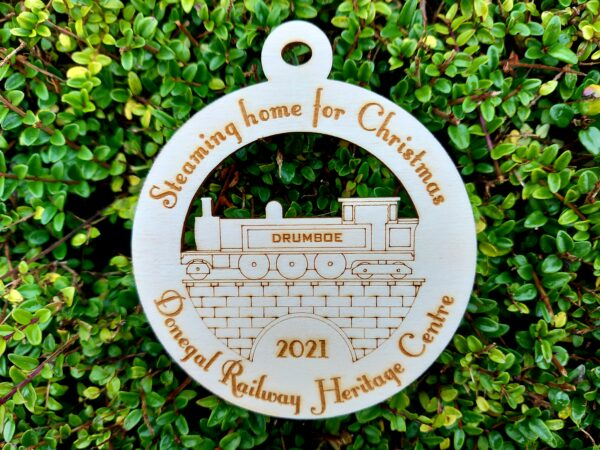 Donegal Railway Christmas decoration, 2021
