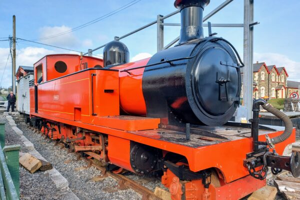 Drumboe, the Donegal Steam Engine at Donegal Railway Heritage Museum, October 2021